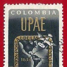 Sellos: COLOMBIA. 1962. UNION POSTAL AMERICAS Y ESPAÑA.. Lote 220632760