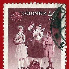 Sellos: COLOMBIA. 1962. GUIAS SCOUTS. Lote 220633005