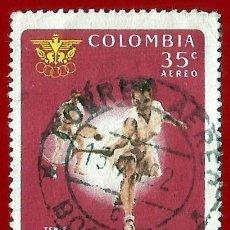 Sellos: COLOMBIA. 1961. JUEGOS DEPORTIVOS BOLIVARIANOS. TENIS. Lote 220673046