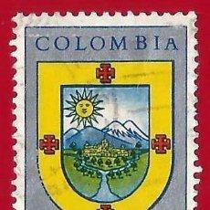Sellos: COLOMBIA. 1961. POPAYAN. ESCUDO. Lote 220674265