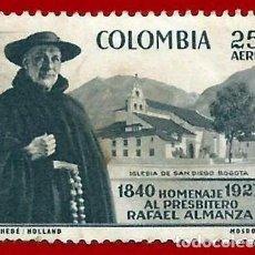 Sellos: COLOMBIA. 1958. RAFAEL ALMANZA. Lote 220739176
