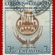 Sellos: COLOMBIA. 1956. INDUSTRIA. Lote 221434945