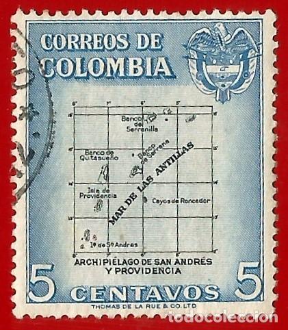 COLOMBIA. 1956. ARCHIPIELAGO DE SAN ANDRES Y PROVIDENCIA (Sellos - Extranjero - América - Colombia)