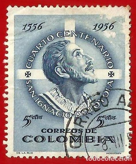 COLOMBIA. 1956. SAN IGNACIO DE LOYOLA (Sellos - Extranjero - América - Colombia)