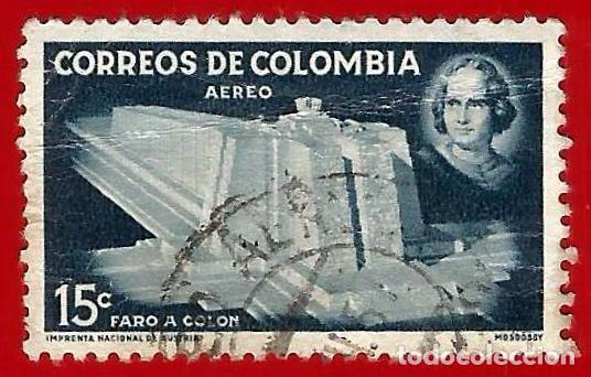 COLOMBIA. 1956. CRISTOBAL COLON. FARO (Sellos - Extranjero - América - Colombia)