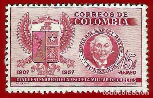 COLOMBIA. 1957. ESCUELA MILITAR DE CADETES (Sellos - Extranjero - América - Colombia)