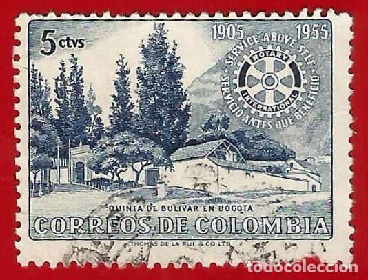 COLOMBIA. 1955. ROTARY INTERNATIONAL (Sellos - Extranjero - América - Colombia)