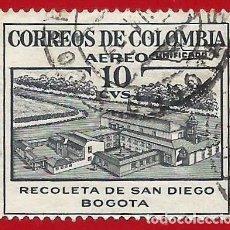 Sellos: COLOMBIA. 1954. RECOLETA DE SAN DIEGO. BOGOTA. Lote 221494350