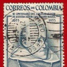 Sellos: COLOMBIA. 1954. FRAY CRISTOBAL DE TORRES. Lote 221494705