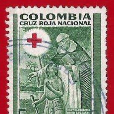 Sellos: COLOMBIA. 1953. CRUZ ROJA NACIONAL. Lote 221495643