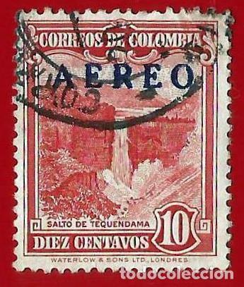 COLOMBIA. 1953. SALTO DE TEQUENDAMA (Sellos - Extranjero - América - Colombia)