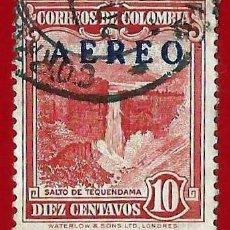 Sellos: COLOMBIA. 1953. SALTO DE TEQUENDAMA. Lote 221495886