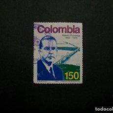 Francobolli: /24.10/-COLOMBIA-1993-150 P. Y&T 1006 EN USADO/º/. Lote 222113770