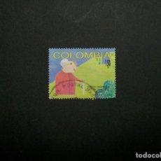 Francobolli: /24.10/-COLOMBIA-1993-150 P. Y&T 1001 EN USADO/º/. Lote 222114126