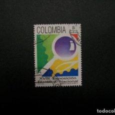 Francobolli: /24.10/-COLOMBIA-1993-TARIFA B(250 P.) Y&T 996 SERIE COMPLETA EN USADO/º/. Lote 222114481