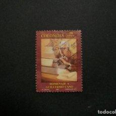 Selos: /24.10/-COLOMBIA-1993-250 P. Y&T 999 SERIE COMPLETA EN USADO/º/. Lote 222114853