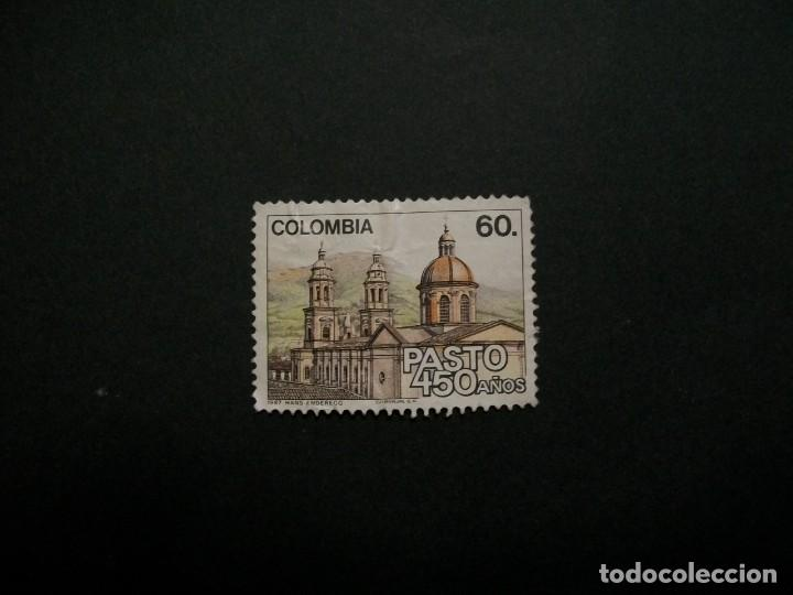 /24.10/-COLOMBIA-1987-60 P. Y&T 919 SERIE COMPLETA EN USADO/º/ (Sellos - Extranjero - América - Colombia)