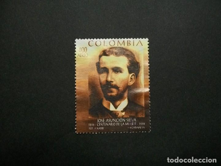 /24.10/-COLOMBIA-1996-CORREO AEREO 400 P. Y&T 927 SERIE COMPLETA EN USADO/º/ (Sellos - Extranjero - América - Colombia)