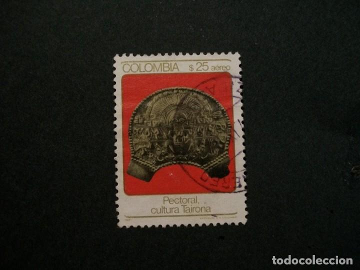 /24.10/-COLOMBIA-1982-CORREO AEREO 25 P. Y&T 711 EN USADO/º/ (Sellos - Extranjero - América - Colombia)