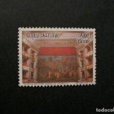 Francobolli: /24.10/-COLOMBIA-1992-CORREO AEREO 230 P. Y&T 858 SERIE COMPLETA EN USADO/º/. Lote 222148572