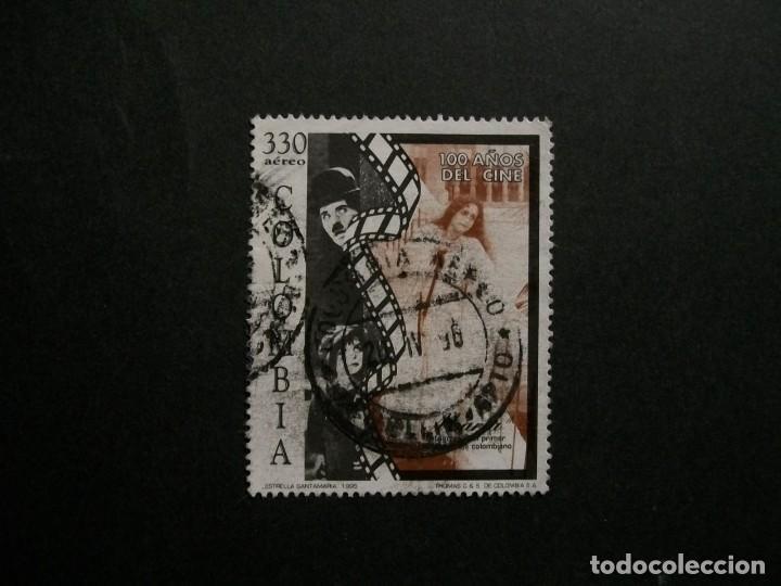 /24.10/-COLOMBIA-1995-CORREO AEREO 330 P. Y&T 906 SERIE COMPLETA EN USADO/º/ (Sellos - Extranjero - América - Colombia)