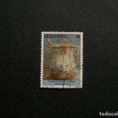 Sellos: /24.10/-COLOMBIA-1991-90 P. Y&T 972 EN USADO/º/. Lote 222149127