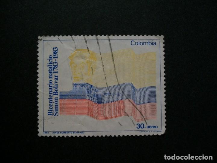 /24.10/-COLOMBIA-1983-CORREO AEREO 30 P. Y&T 723 SERIE COMPLETA EN USADO/º/ (Sellos - Extranjero - América - Colombia)