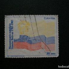 Sellos: /24.10/-COLOMBIA-1983-CORREO AEREO 30 P. Y&T 723 SERIE COMPLETA EN USADO/º/. Lote 222150557