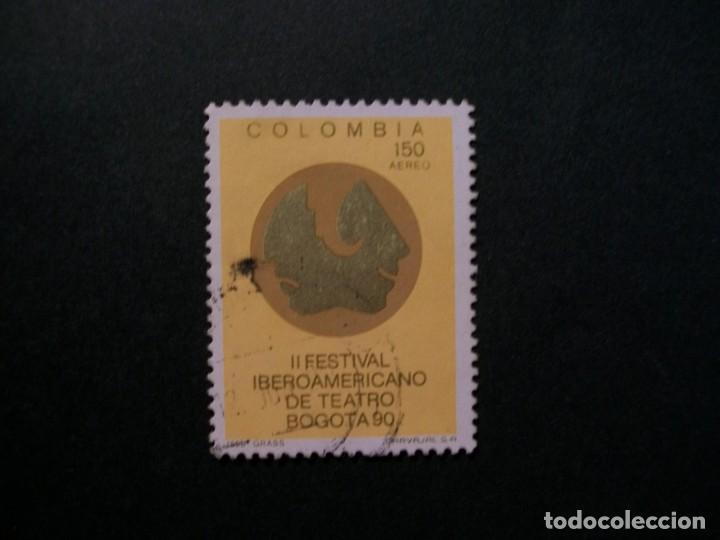/24.10/-COLOMBIA-1990-CORREO AEREO 150 P. Y&T 813 SERIE COMPLETA EN USADO/º/ (Sellos - Extranjero - América - Colombia)