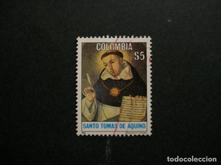 /24.10/-COLOMBIA-1982-5 P. Y&T 860 SERIE COMPLETA EN USADO/º/ (Sellos - Extranjero - América - Colombia)