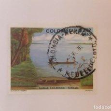 Sellos: COLOMBIA SELLO USADO. Lote 222538171