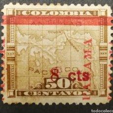 Sellos: PANAMÁ, ZONA DEL CANAL AÑO 1905 MH*(FOTOGRAFÍA REAL). Lote 225064417
