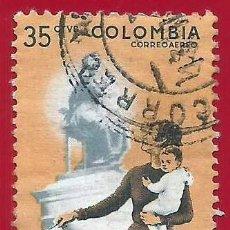 Sellos: COLOMBIA. 1962. DERECHOS POLITICOS DE LA MUJER. Lote 227726260