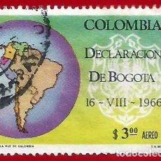 Francobolli: COLOMBIA. 1967. DECLARACION DE BOGOTA. Lote 227941760