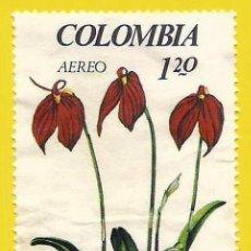 Sellos: COLOMBIA. 1967. FLORES. ORQUIDEA. Lote 227941865