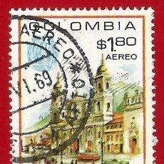 Sellos: COLOMBIA. 1968.VISITA DEL PAPA PABLO VI. Lote 227942505