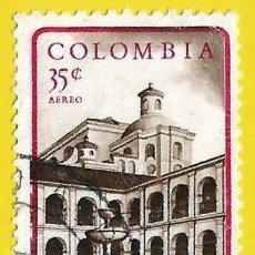Sellos: COLOMBIA. 1961. HOTEL TURISMO EN POPAYAN. Lote 227943635