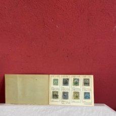 Sellos: ÁLBUM DE SELLOS COLOMBIA ANTIGUOS CATALOGADOS . COLECCION 122 PIEZAS. Lote 233489110