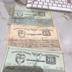 Sellos: COLOMBIA VALOR DECLARADO AÑOS 1905 .09 . VER FOTOS 11. Lote 233883705