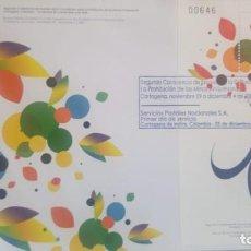 Sellos: O) COLOMBIA 2009, POR UN MUNDO SIN MÍNAS, II CONFERENCIA DE REVISIÓN DE LA CONVENCIÓN SOBRE LA PROHI. Lote 236258610