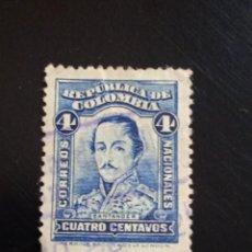 Sellos: COLOMBIA 4 CENTAVOS SANTANDER, AÑO 1910... Lote 245453910