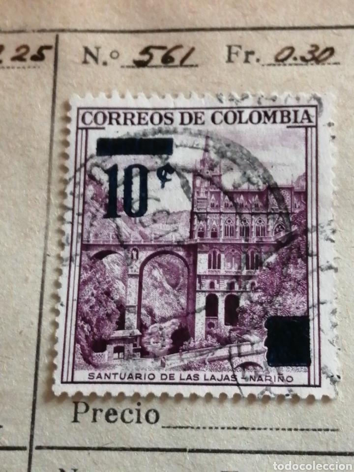 CORREO DE COLOMBIA (Sellos - Extranjero - América - Colombia)