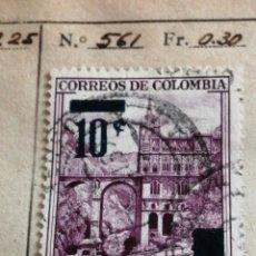 Sellos: CORREO DE COLOMBIA. Lote 252674185