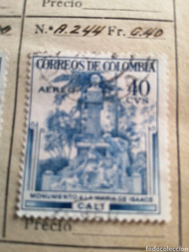CORREOS DE COLOMBIA (Sellos - Extranjero - América - Colombia)