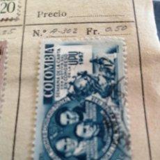 Sellos: CORREOS DE COLOMBIA. Lote 252676475