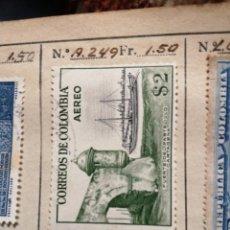 Sellos: CORREOS DE COLOMBIA. Lote 252674980