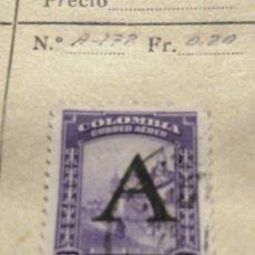 Sellos: CORREOS DE COLOMBIA. Lote 252676165