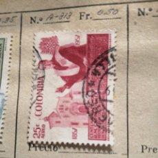 Sellos: CORREOS DE COLOMBIA. Lote 252676970