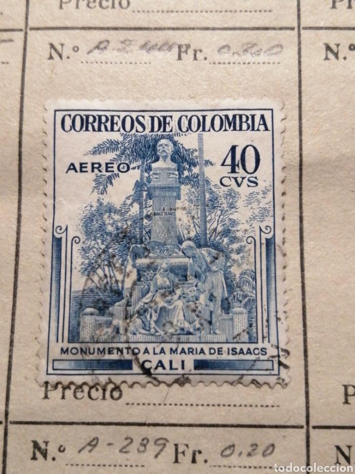 CORREOS DE PERU (Sellos - Extranjero - América - Colombia)