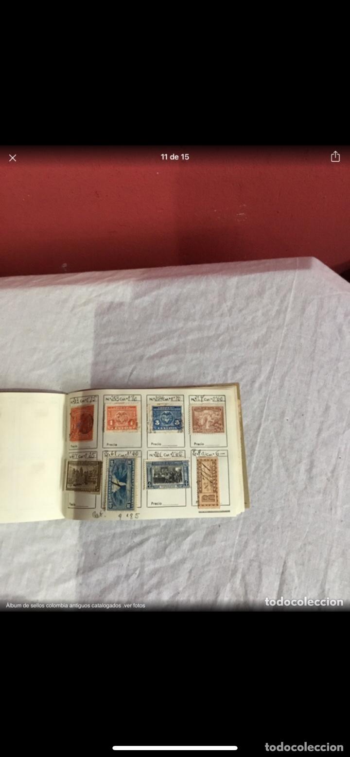 Sellos: Precioso álbum de 100 sellos clasificados colombia antigua completo . Alta coleccion. Ver fotos - Foto 11 - 253838140